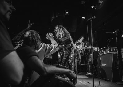 Miss Velvet and The Blue Wolf - BB King's NYC - George Clinton Parliament Funkadelic Mardi Gras Madness Tour 2018 - Photo Elizabeth Fisher