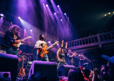 Miss Velvet and The Blue Wolf on tour with George Clinton Parliament Funkadelic The Paradiso Amsterdam NL June 28 2018