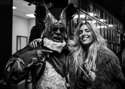 Miss Velvet and The Blue Wolf on tour with George Clinton Parliament Funkadelic